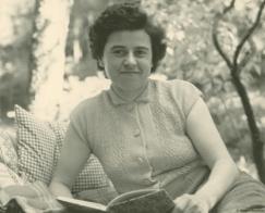 Pauline; Fotografie, sw, 1950er-Jahre