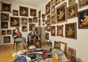 Lesende III © Margret Baumann