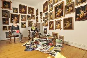 Lesende II © Margret Baumann