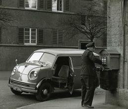 Postkastenleerung, OPD Stuttgart